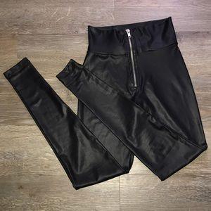 F21 Faux Leather Legging